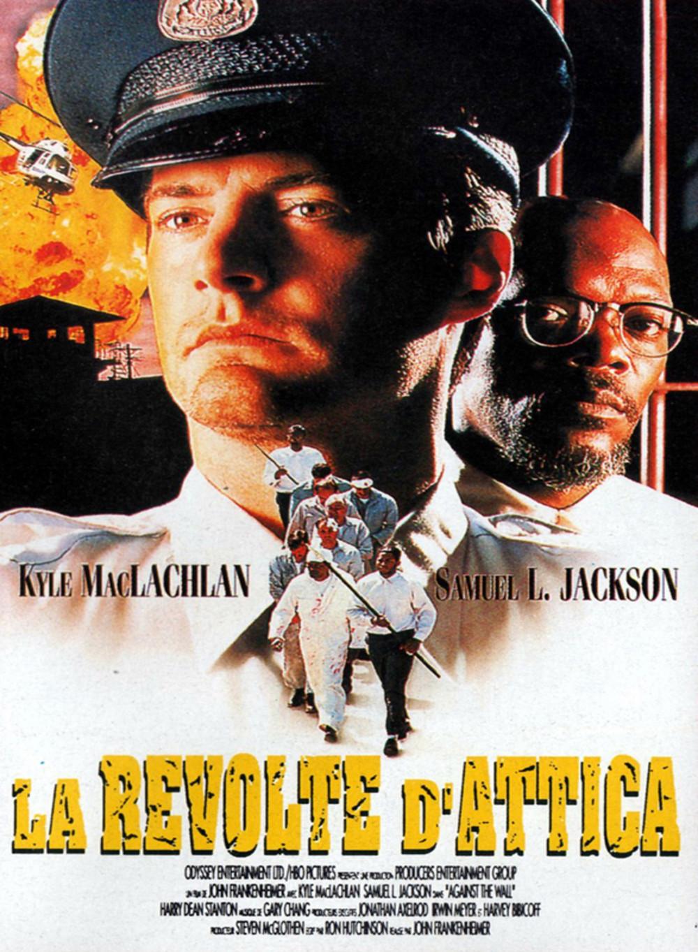 affiche du film La Révolte d'Attica (TV)