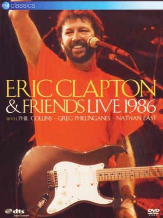 affiche du film Eric Clapton & Friends Live 1986
