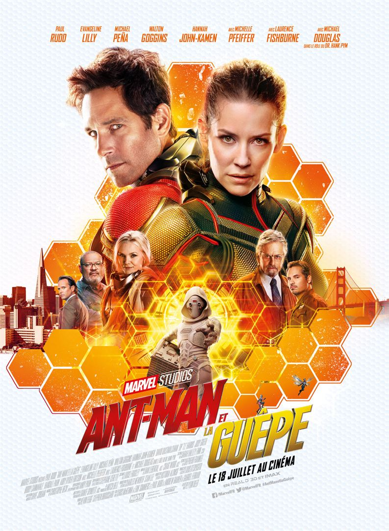 affiche du film Ant-Man et la Guêpe