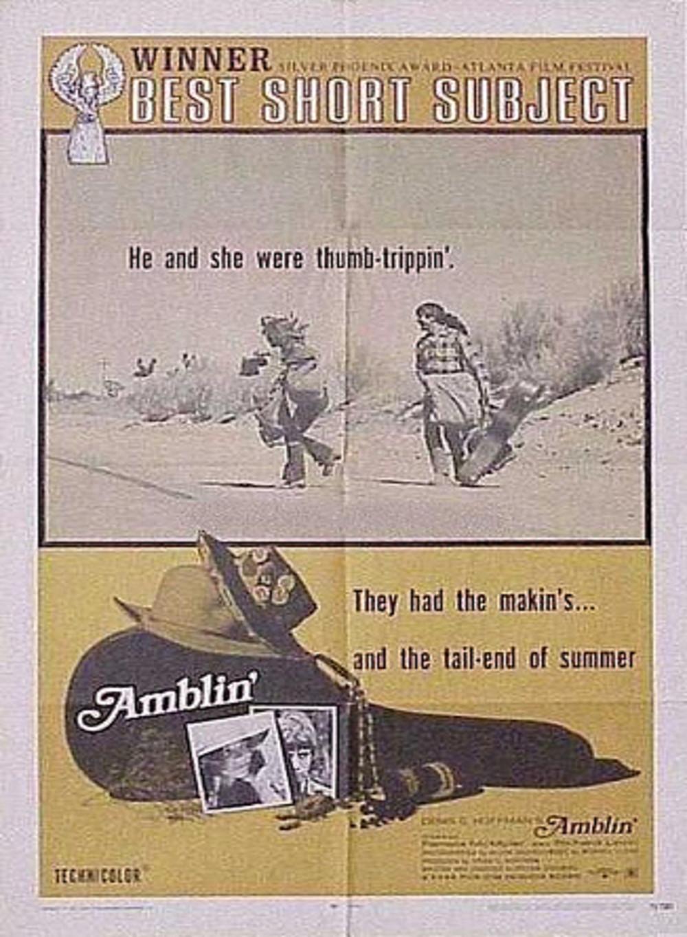 affiche du film Amblin'