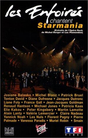 affiche du film Les Enfoirés 1993 ... Les Enfoirés chantent Starmania