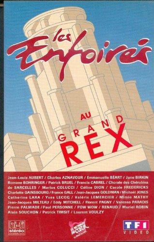 affiche du film Les Enfoirés 1994 ... Les Enfoirés au Grand Rex