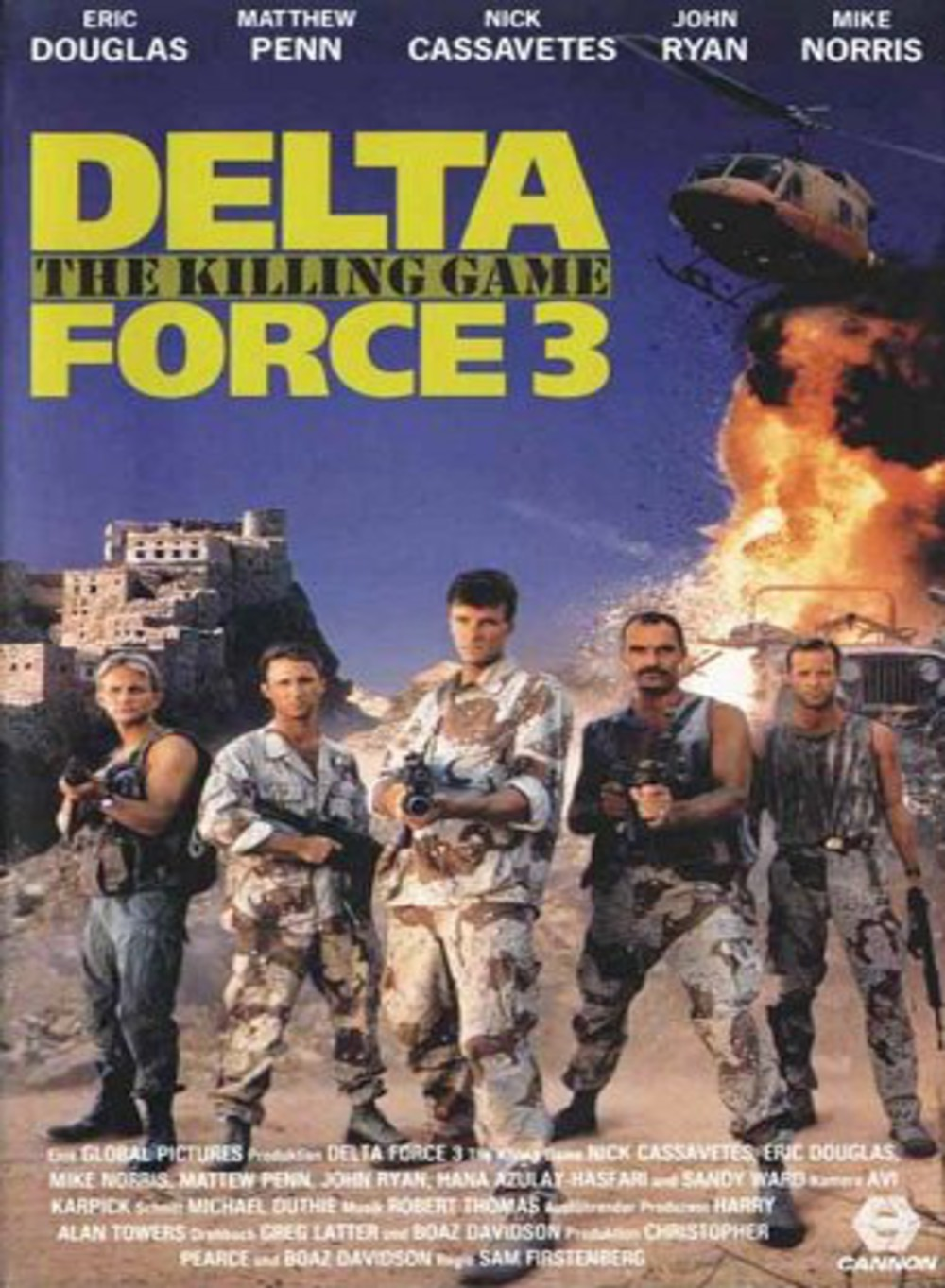affiche du film Delta Force 3