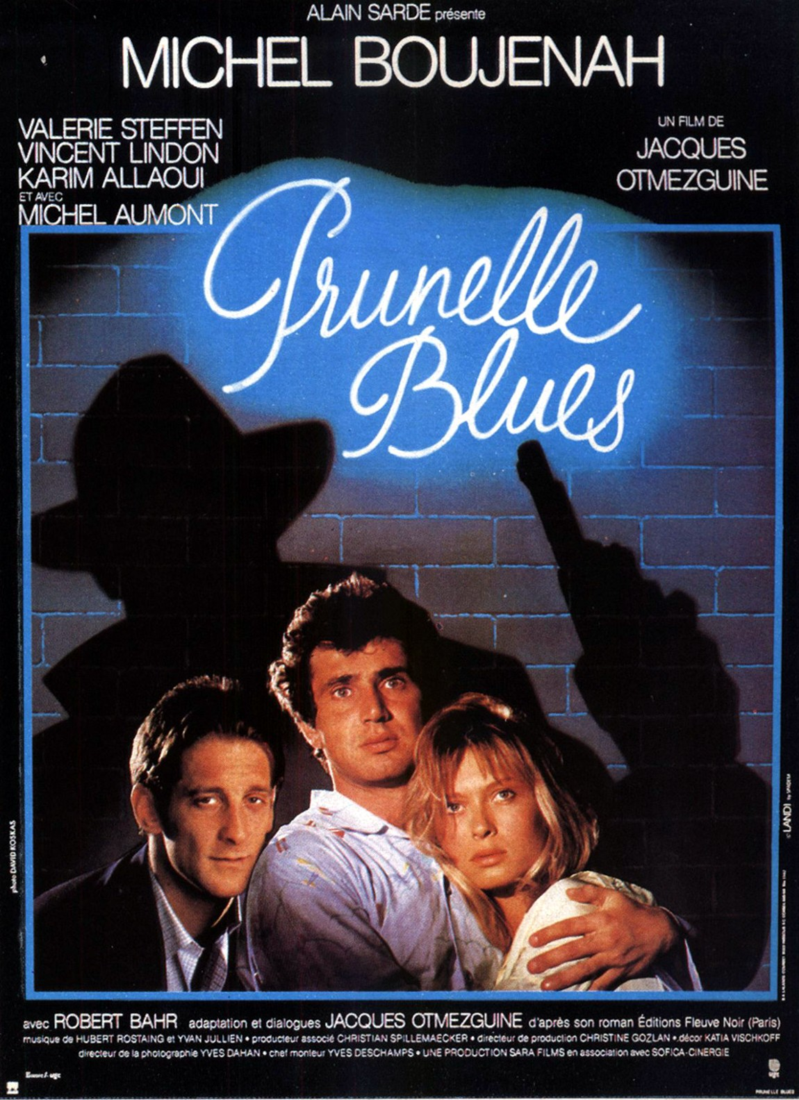 affiche du film Prunelles Blues