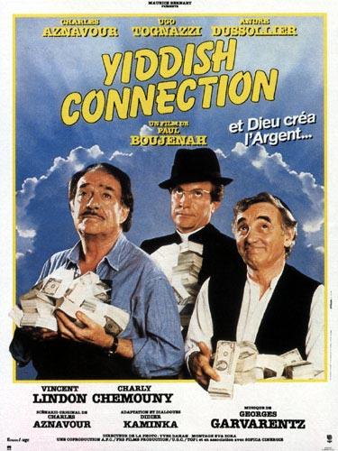 affiche du film Yiddish Connection