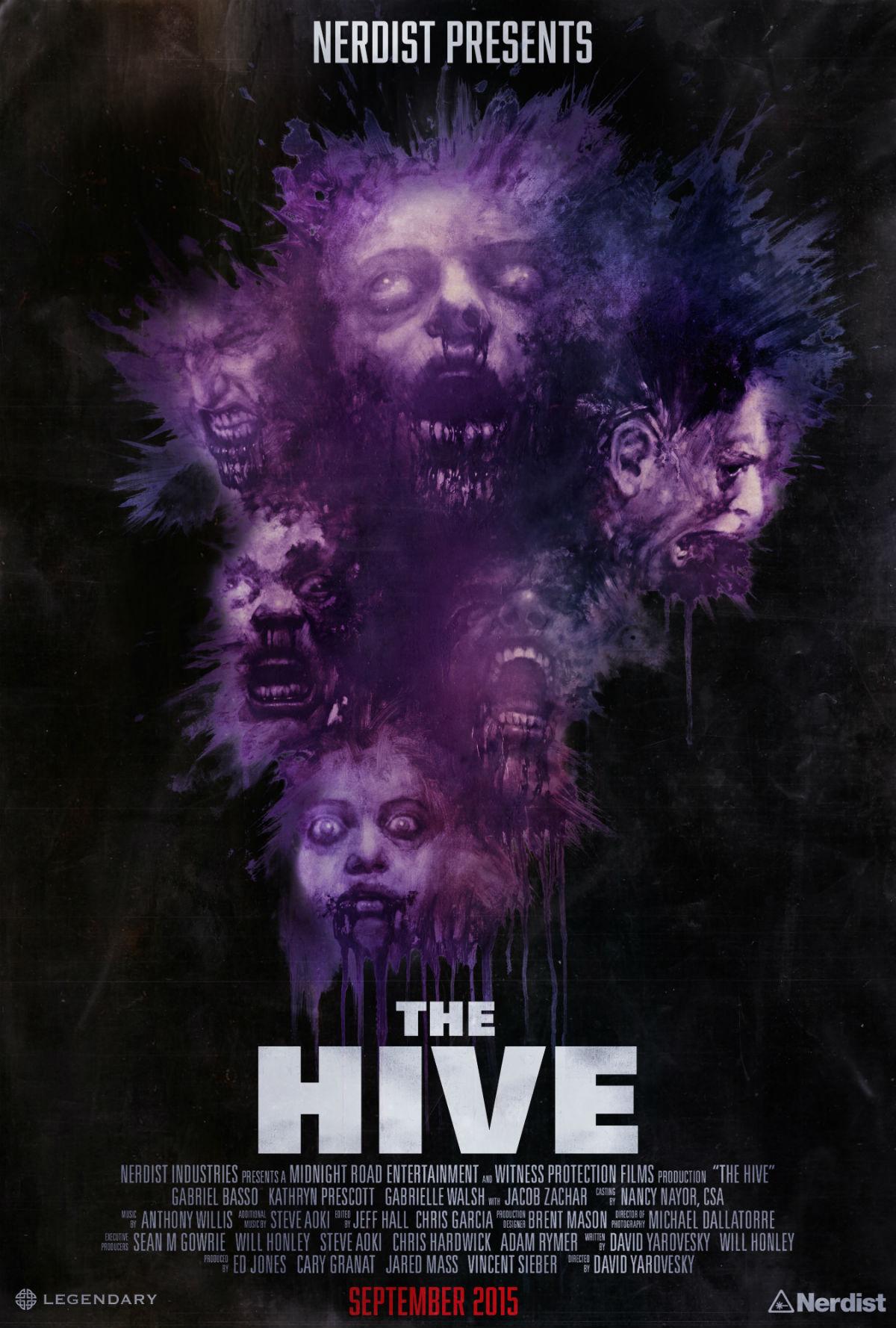 affiche du film The Hive
