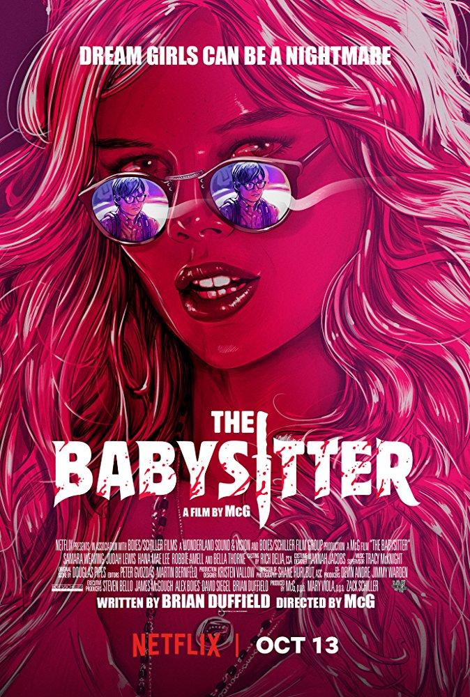 affiche du film La Baby-Sitter