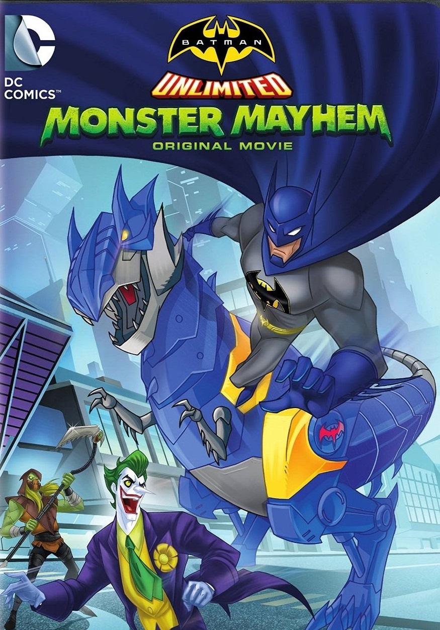 affiche du film Batman Unlimited : Monstrueuse Pagaille