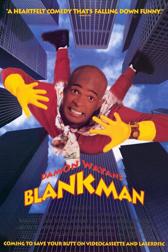 affiche du film Blankman