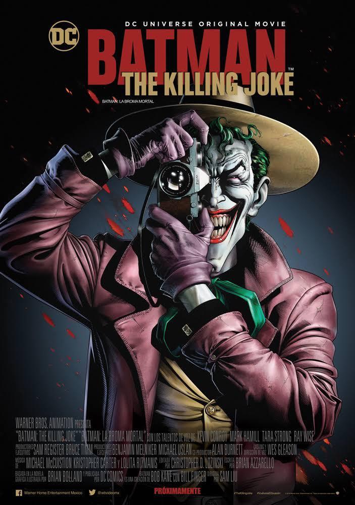 affiche du film Batman: The Killing Joke