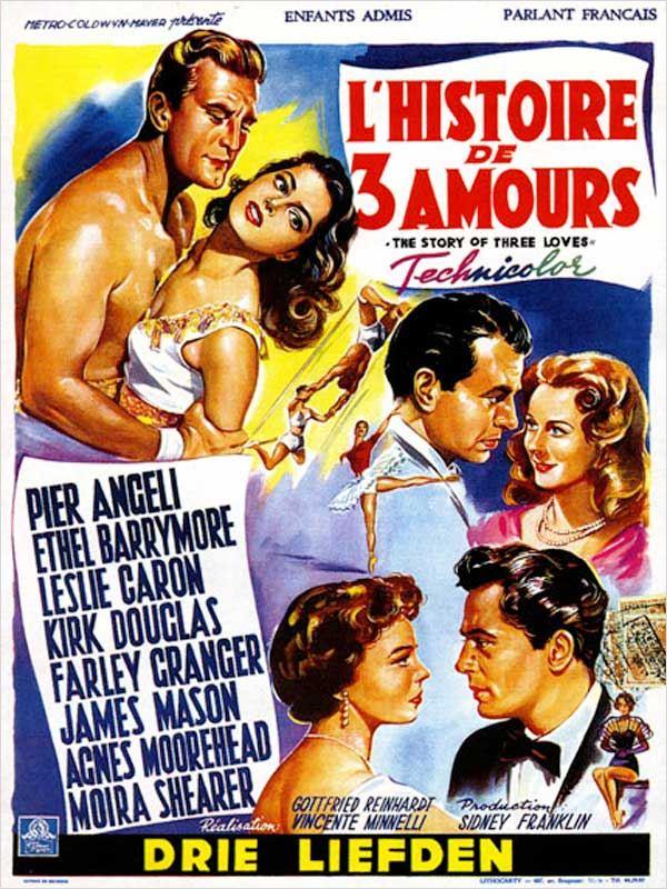 affiche du film Histoire de trois amours