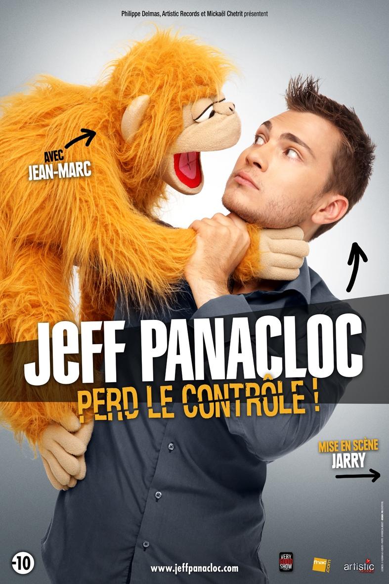 affiche du film Jeff Panacloc - Perd le contrôle !