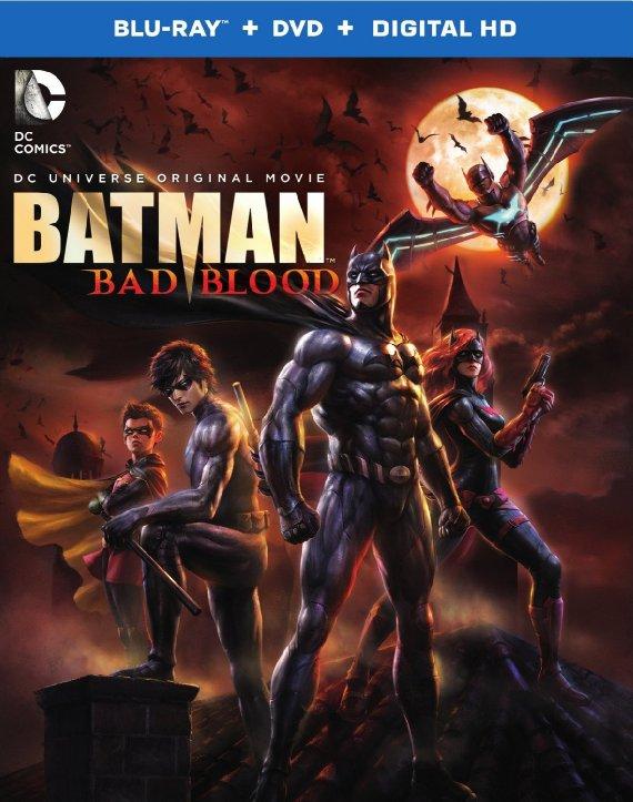 affiche du film Batman : Mauvais sang