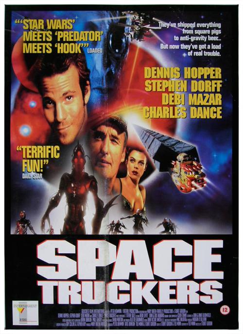 affiche du film Space Truckers