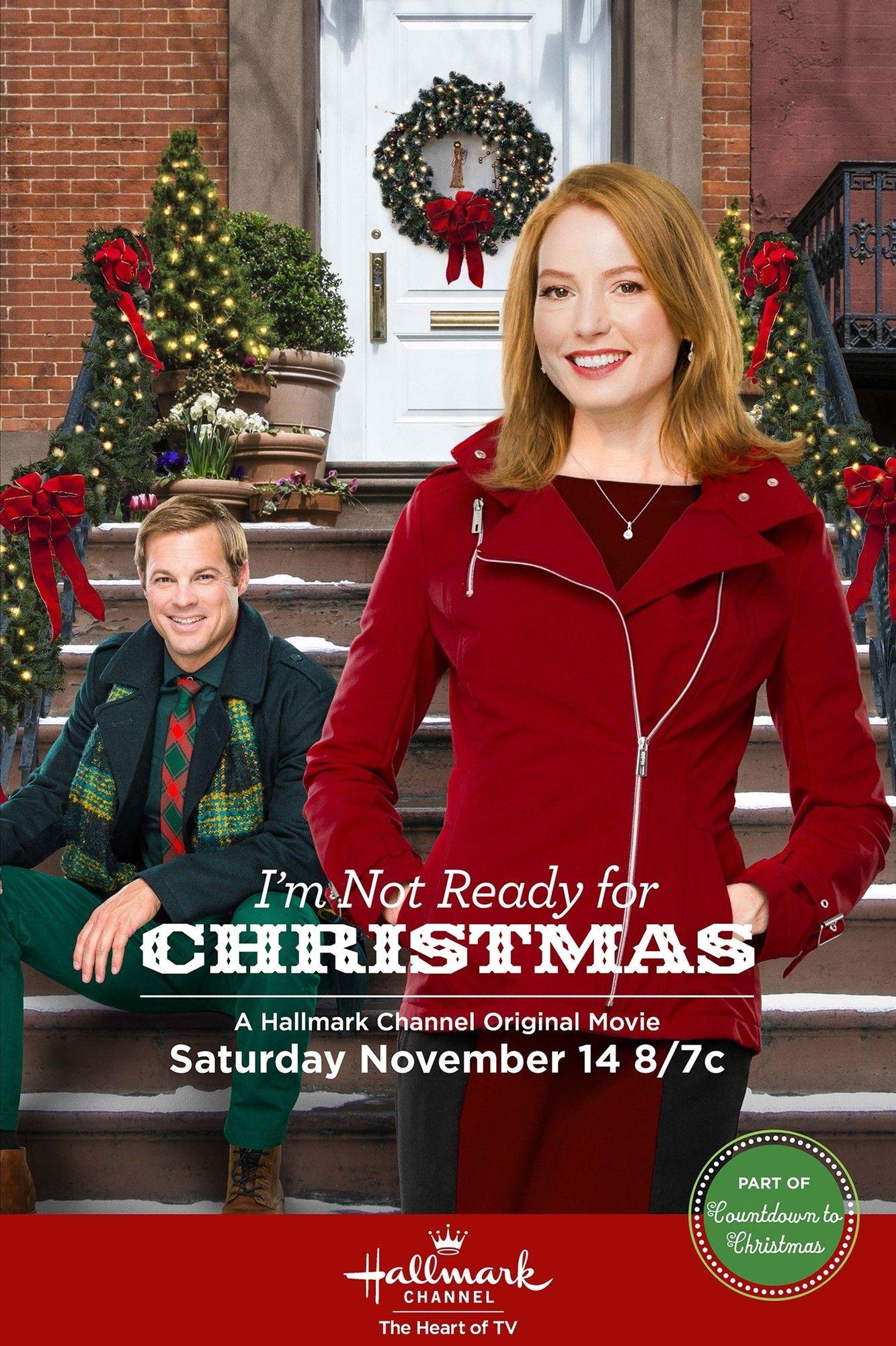 affiche du film Je ne suis pas prête pour Noël (TV)