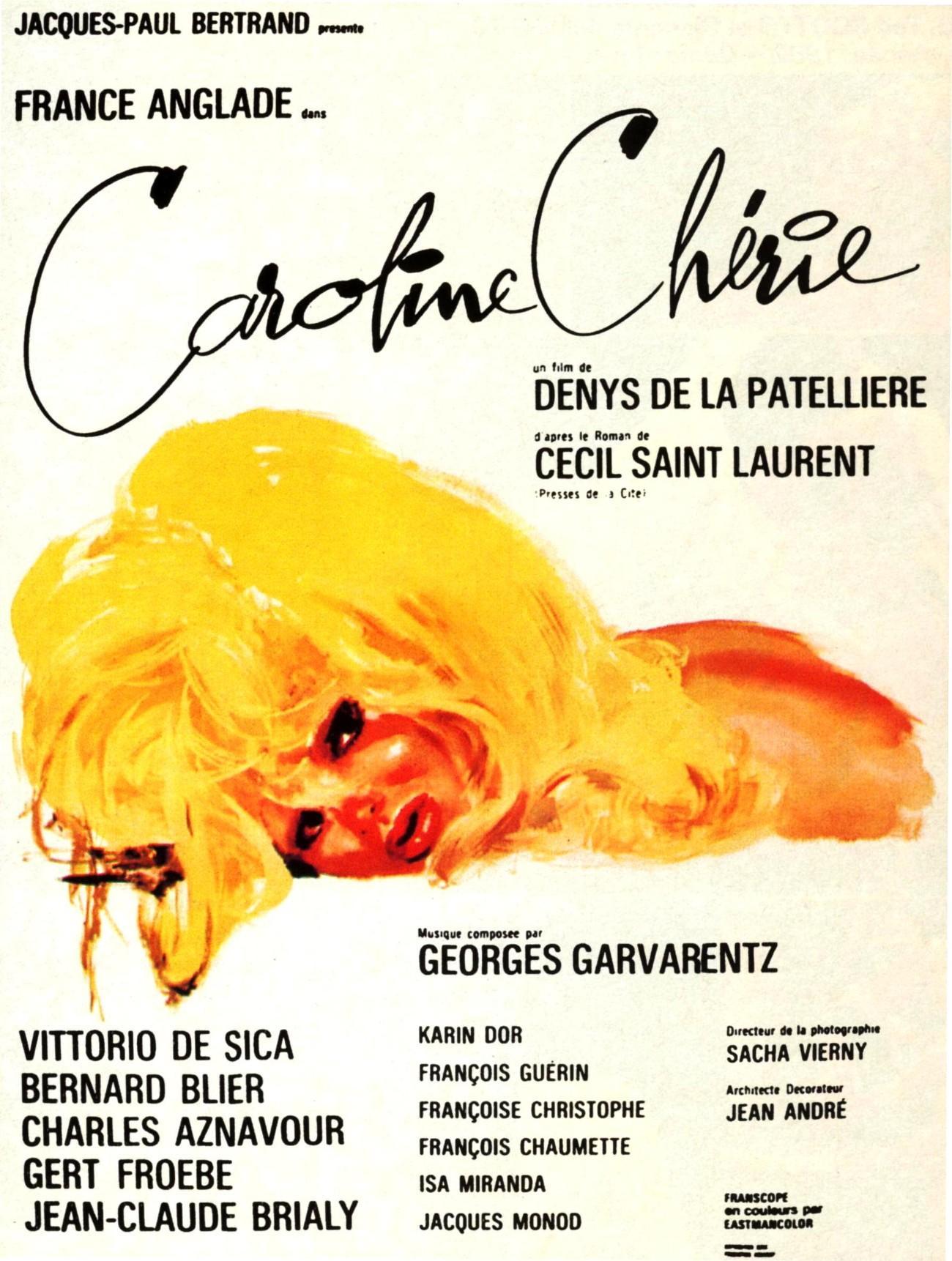 affiche du film Caroline chérie