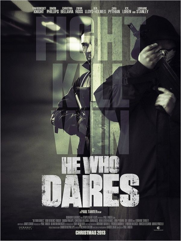 affiche du film He Who Dares: Downing Street Siege