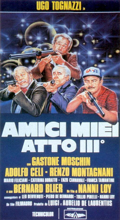 affiche du film Mes chers amis 3