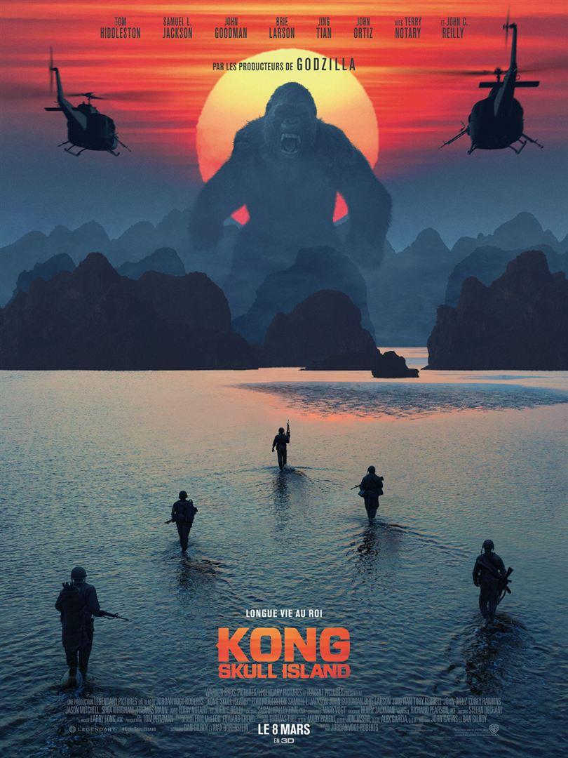affiche du film Kong: Skull Island