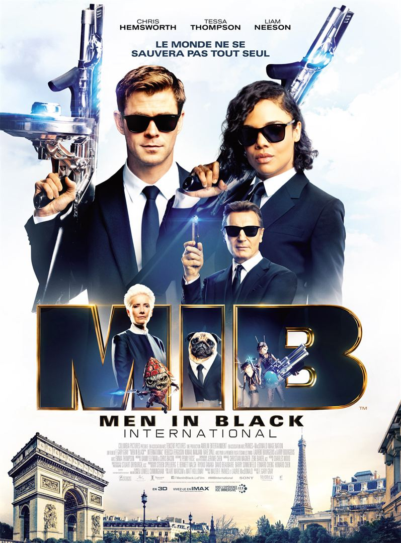affiche du film Men in Black International