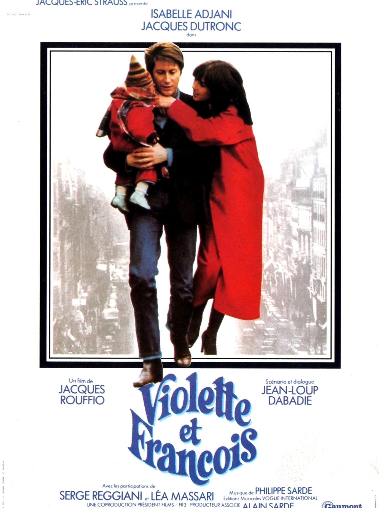 affiche du film Violette et François