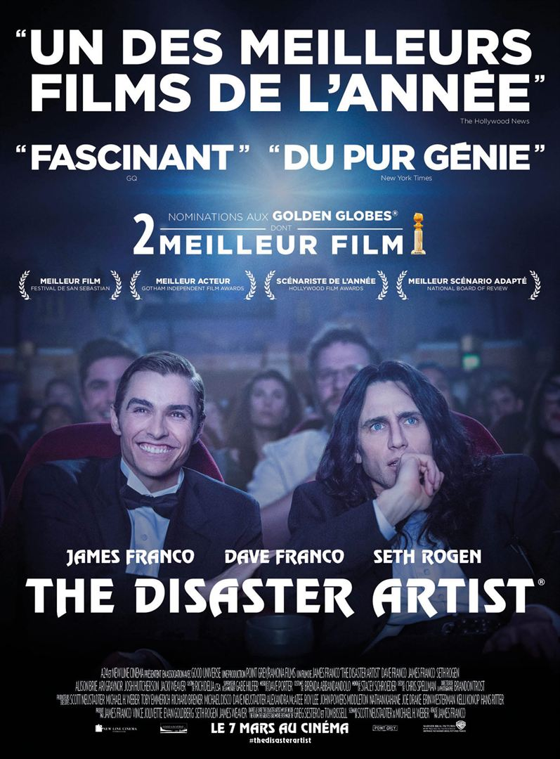 affiche du film The Disaster Artist
