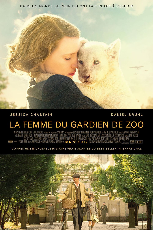 affiche du film La Femme du gardien de zoo