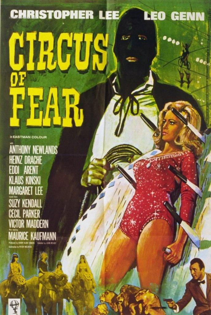 affiche du film Le Cirque de la peur