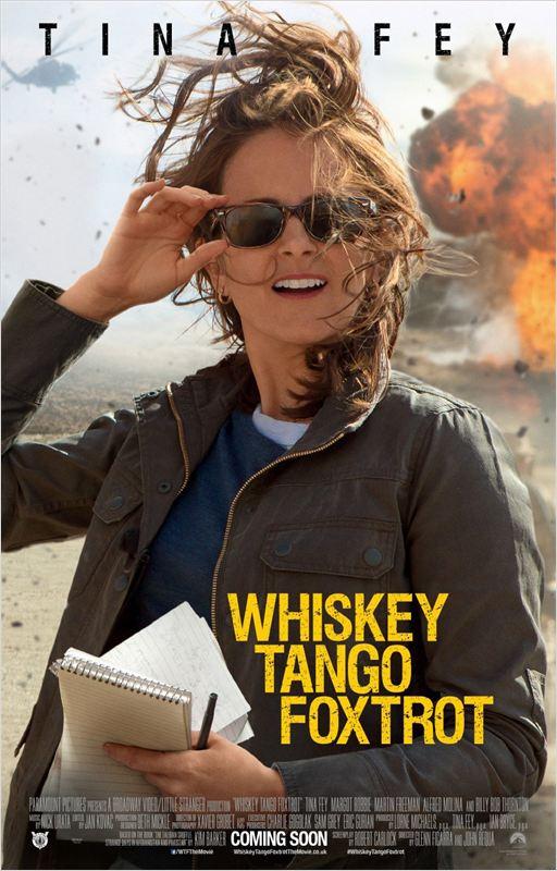 affiche du film Whiskey Tango Foxtrot