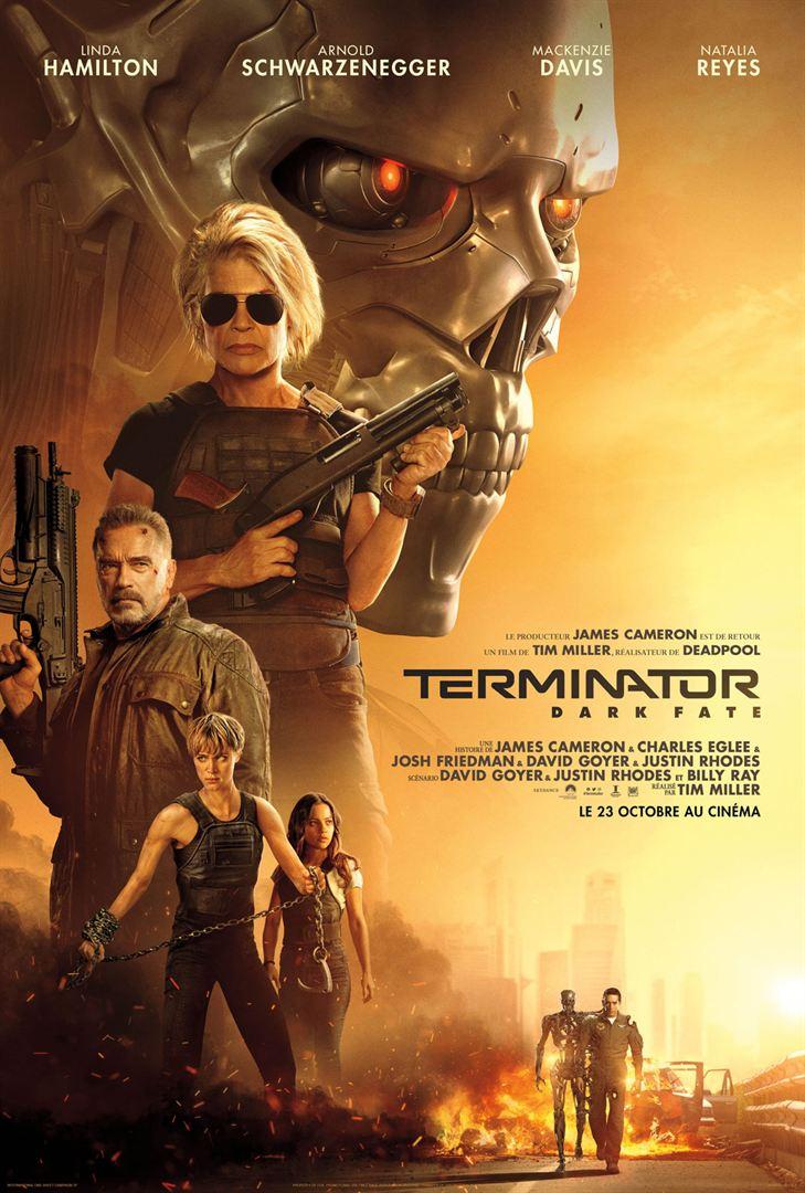 affiche du film Terminator: Dark Fate