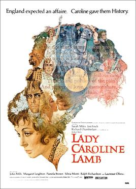 affiche du film Lady Caroline Lamb