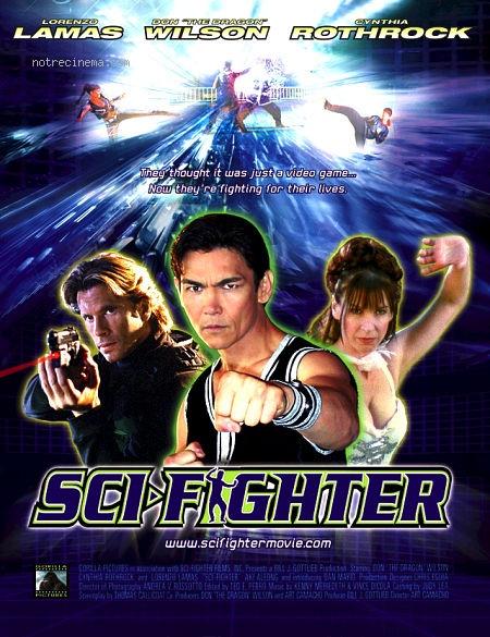 affiche du film Sci-Fighter