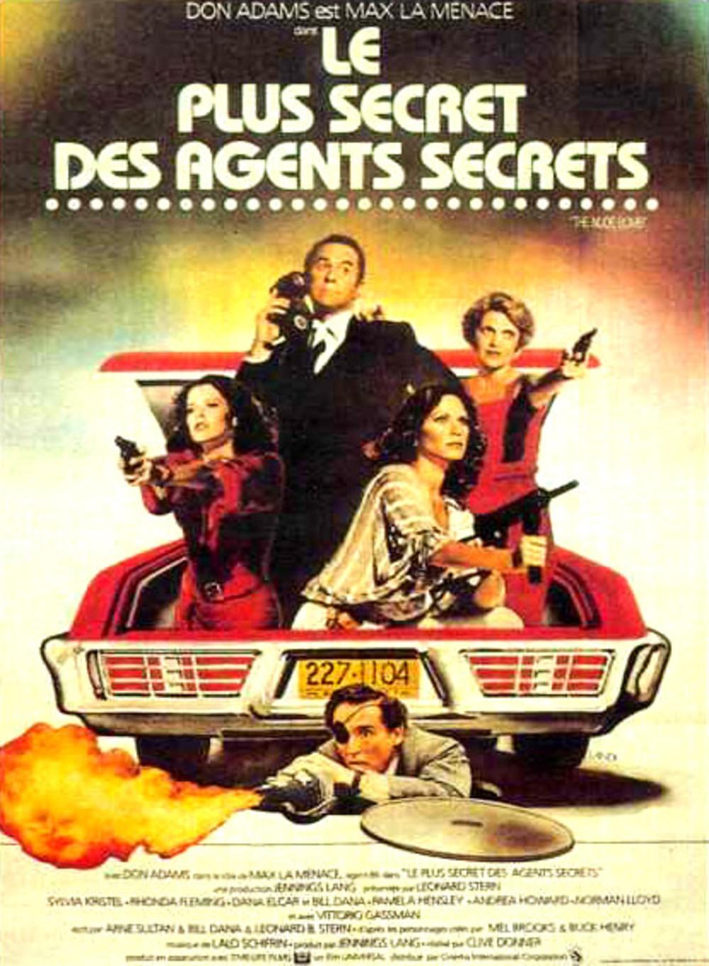 affiche du film Le Plus Secret des agents secrets