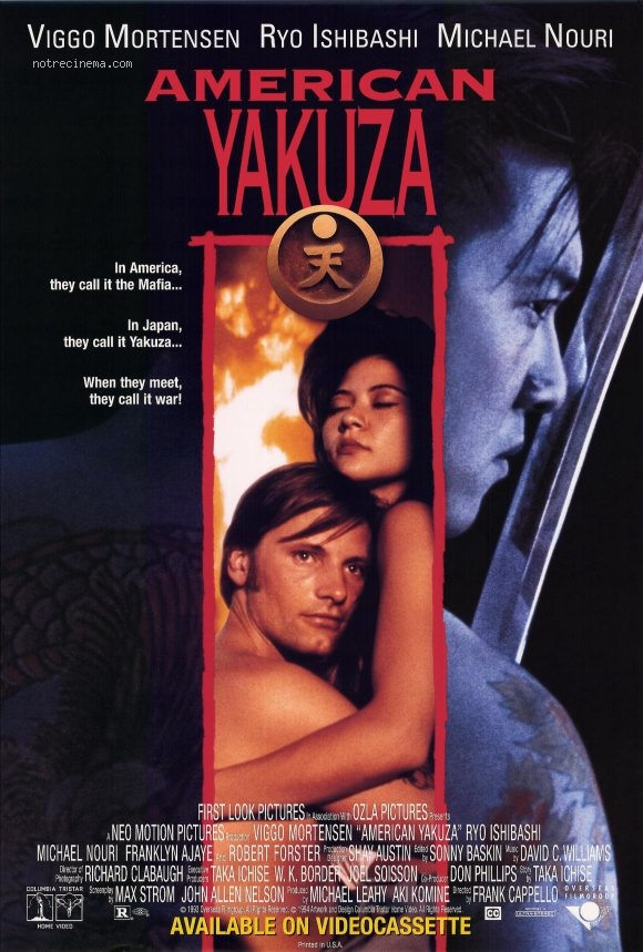 affiche du film American Yakuza