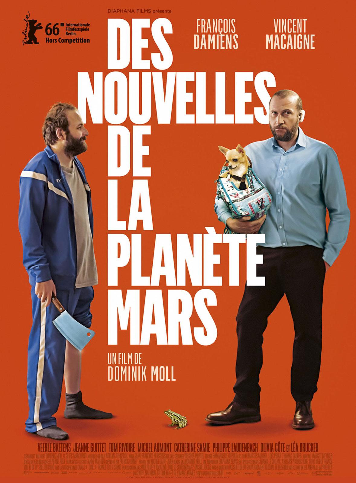 affiche du film Des nouvelles de la planète Mars