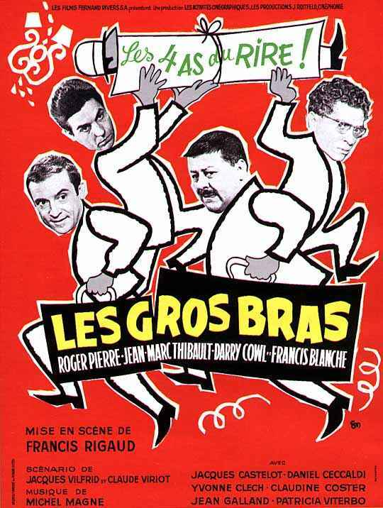 affiche du film Les Gros bras