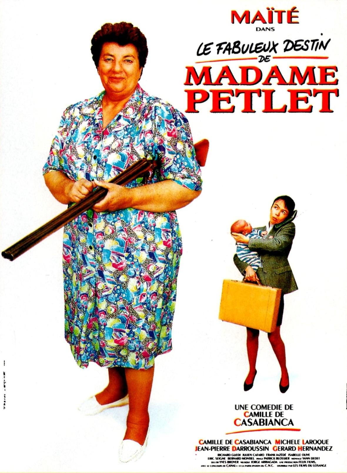 affiche du film Le Fabuleux Destin de Madame Petlet