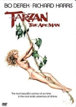 affiche du film Tarzan, l'homme singe