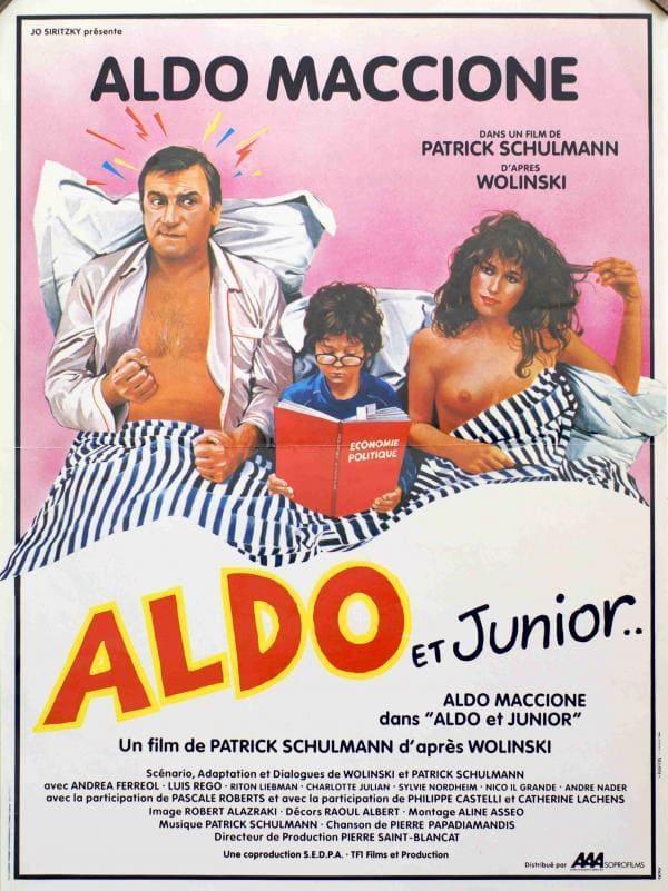 affiche du film Aldo et Junior