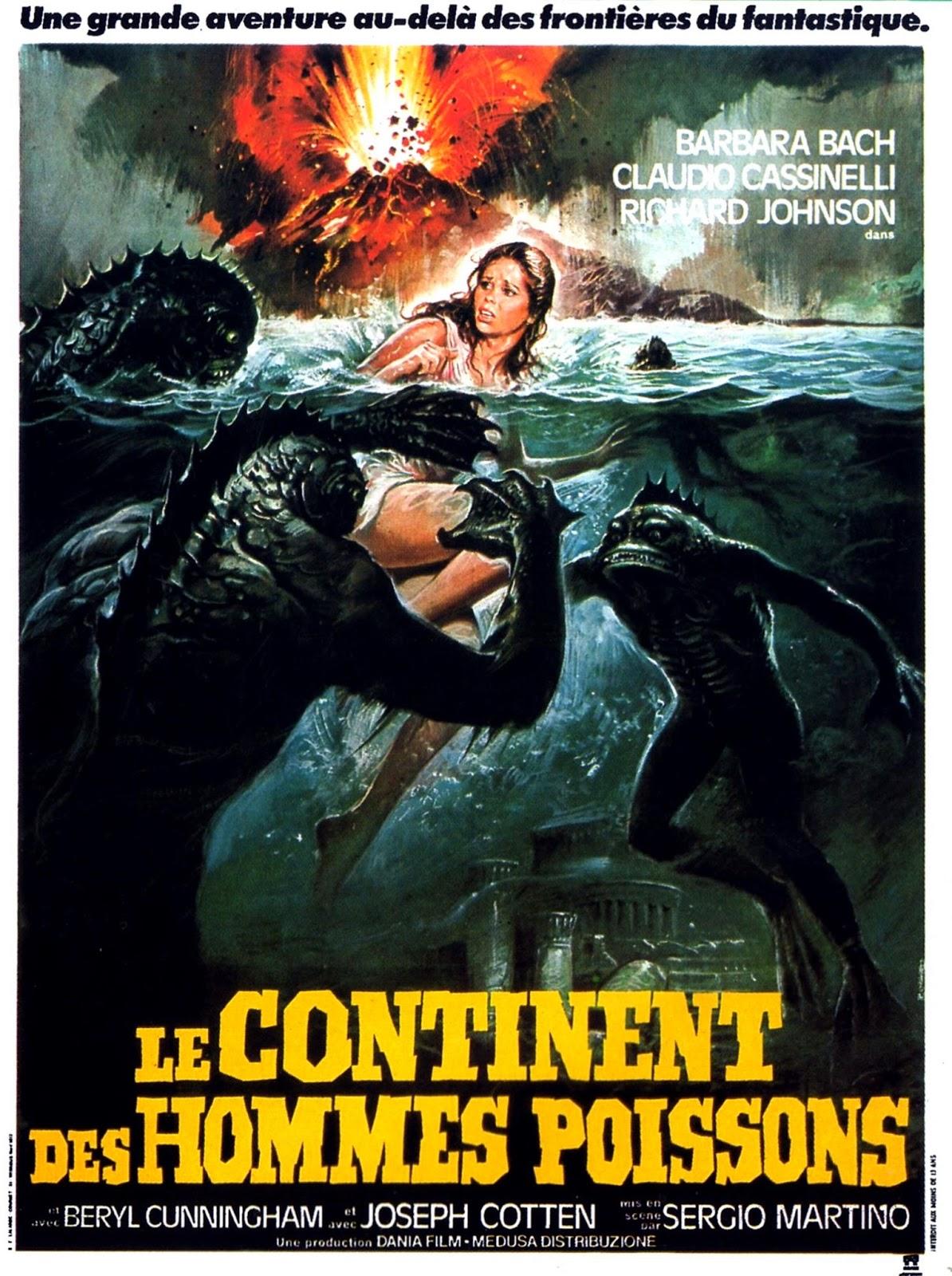 affiche du film Le Continent des hommes poissons