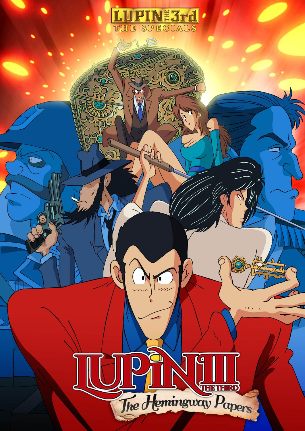 affiche du film Lupin III: The Hemingway Papers (TV)