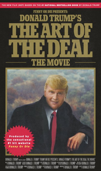 affiche du film Donald Trump's The Art of the Deal, The Movie