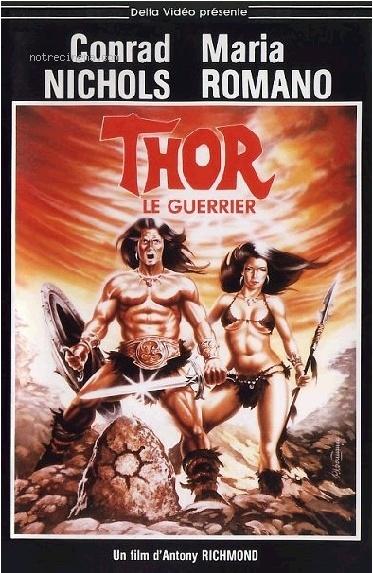 affiche du film Thor Le Guerrier