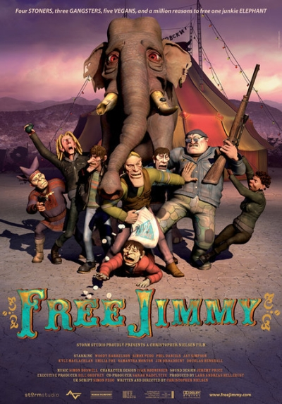 affiche du film Free Jimmy