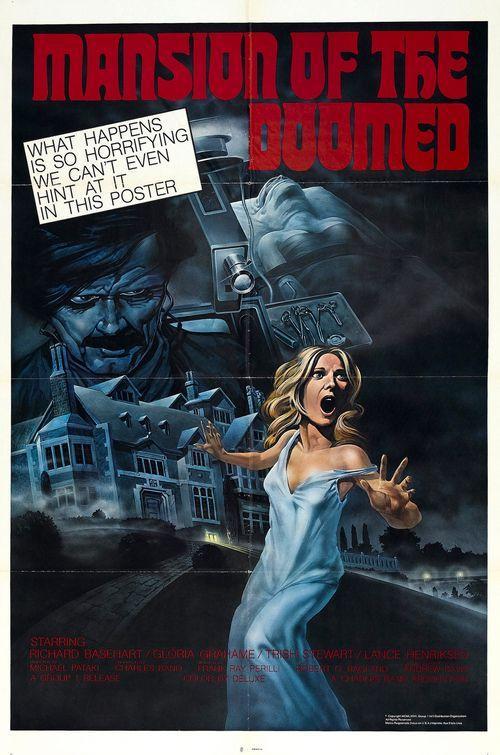 affiche du film Mansion of the Doomed