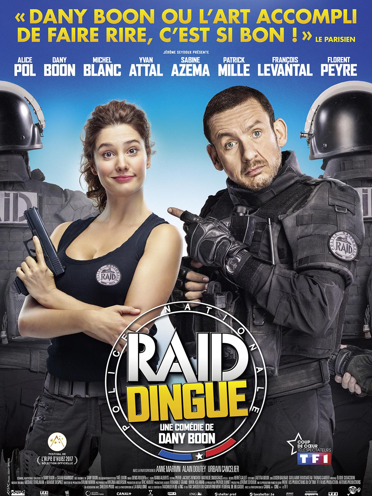 affiche du film Raid Dingue