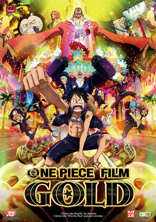 affiche du film One Piece : Gold