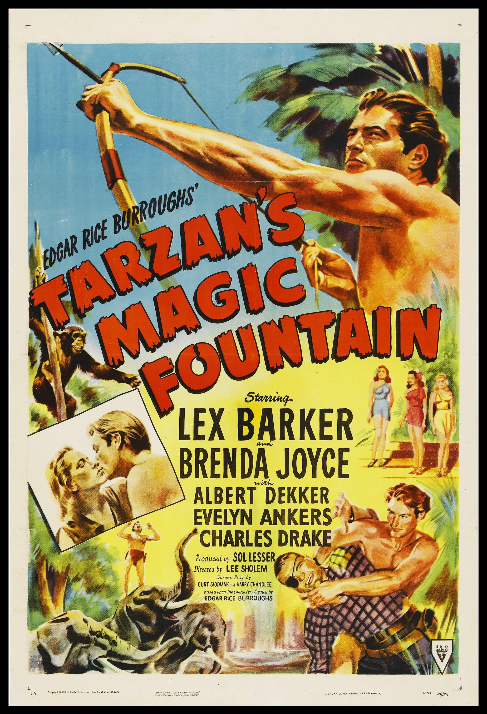 affiche du film Tarzan et la Fontaine Magique