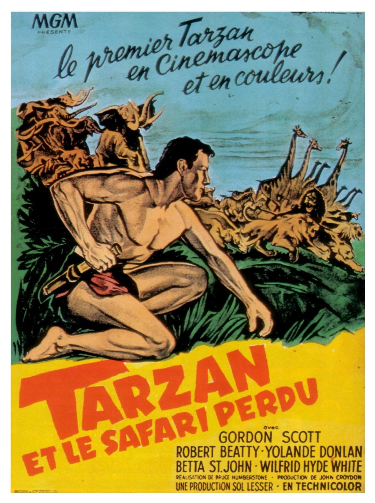 affiche du film Tarzan et le safari perdu