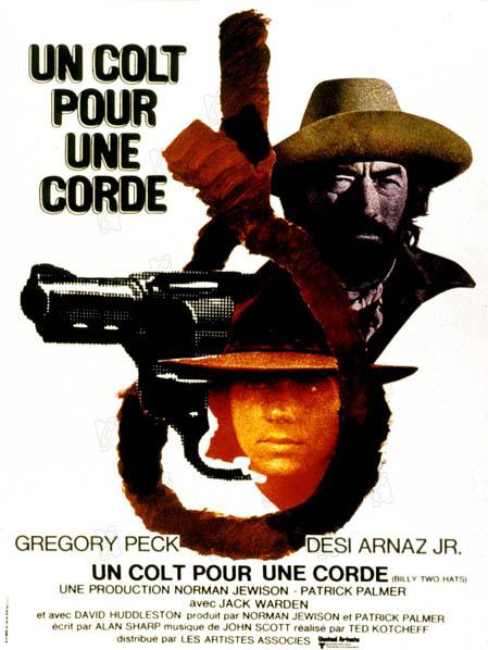 affiche du film Un Colt pour une corde